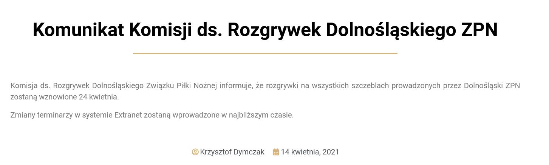 Screenshot_2021-04-14 Komunikat Komisji ds Rozgrywek Dolnośląskiego ZPN