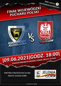 Plakat FINAŁ Pucharu Polski